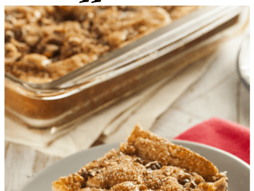 RECIPE - CHRISTMAS MORNING COFFEE CAKE
