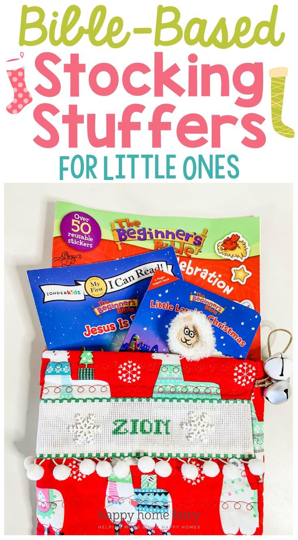Bible-Based Stocking Stuffer Ideas for Little Ones