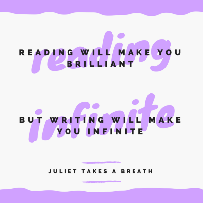 Reading will make you brilliant