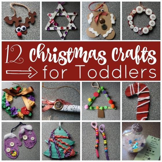 Easy Preschool Christmas Ornaments Projects