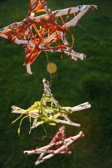 Summer Stars Homemade Garden Ornament
