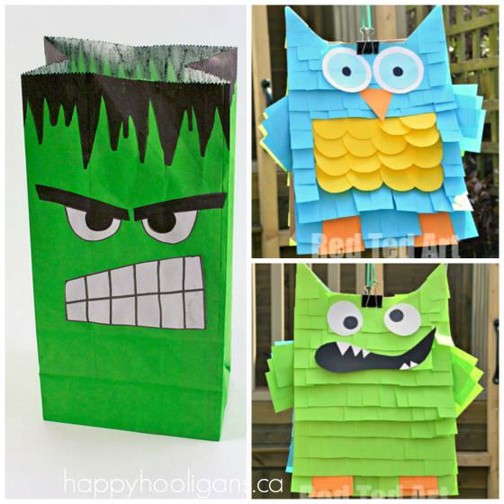 Ways to use paper bags for birthday party accessories copy