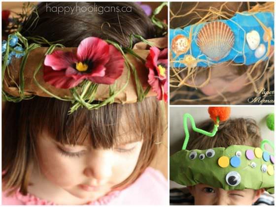 paper bag head pieces for kids copy