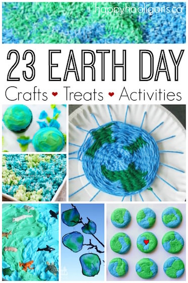 23 Earth Day Crafts Treats And Activities For Kids