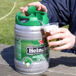 Dutch Design (15): The New Heineken 5 L DraughtKeg