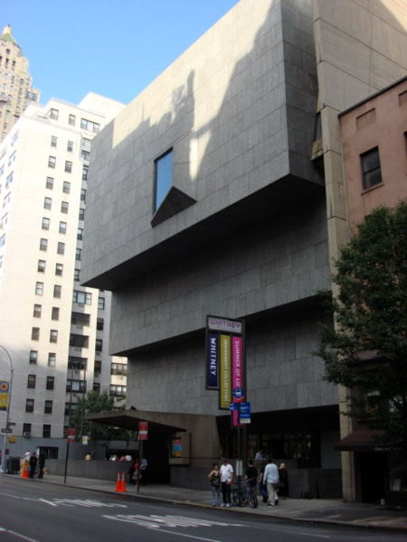 Whitney Museum of Armerican Art NYC