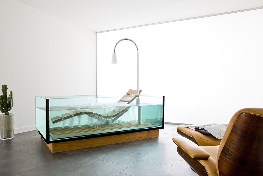 Hoesch Water Lounge - Luxurious Chaise Lounge And Bathtub Hybrid - Born Rich