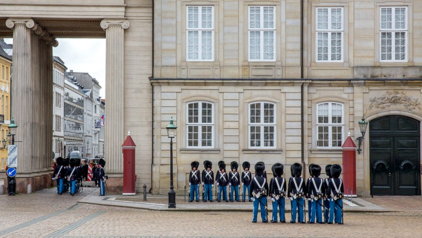 Changing of the Guard in Copenhagen 11