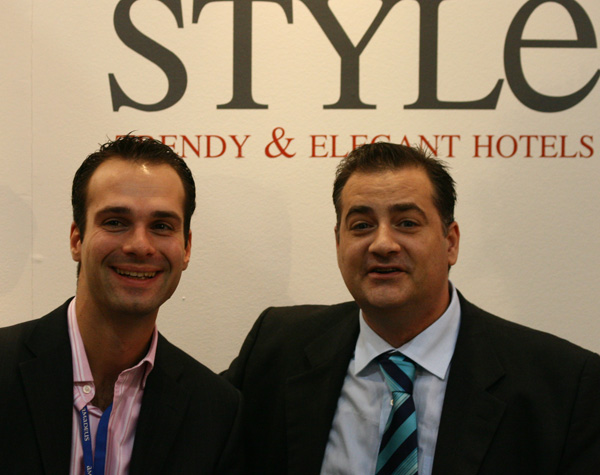 Guillaume Thevenot and Albert Barra at WTM