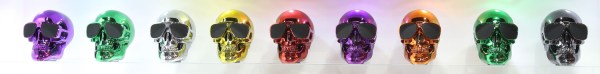 Jarred Skull Speakers