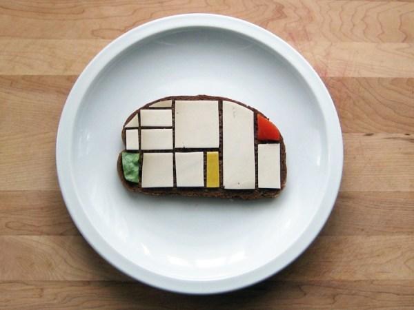 Mondrian Sandwich
