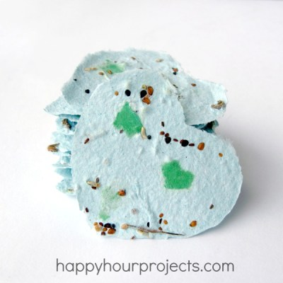 Recycled Earth Day Seed Paper
