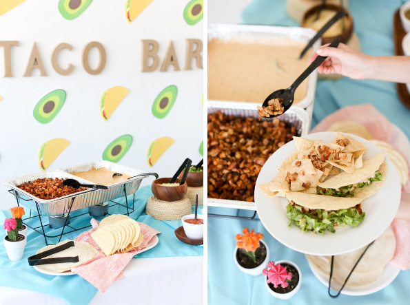 Image result for taco bar party