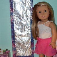 Make a Full-length Mirror for Your American Girl Doll