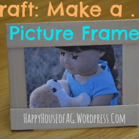 Craft: Make a Picture Frame