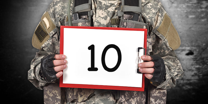 10 Reasons for Hiring Veterans