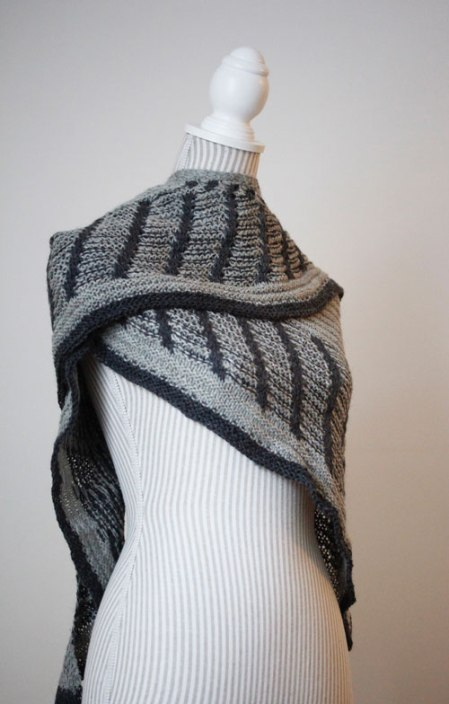 Metalouse shawl