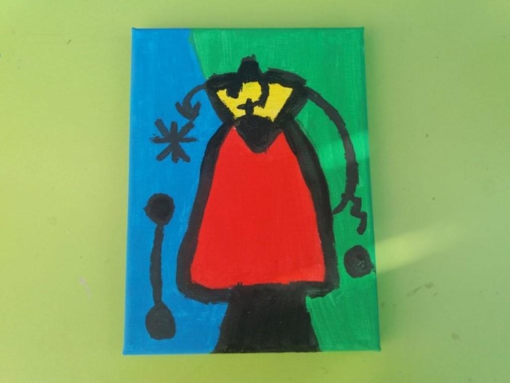 blog happy kids house 10 - Manualidad Miró