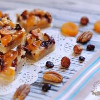 פלורנטינים - ריבועי אגוזים ופירות יבשים מטריפים