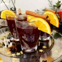 German Mulled Wine (Glühwein) contains all traditional Christmas spices as well as a fruity hint of citrus. It's very easy to make and it looks impressive!