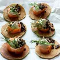 Russian Buckwheat Pancakes