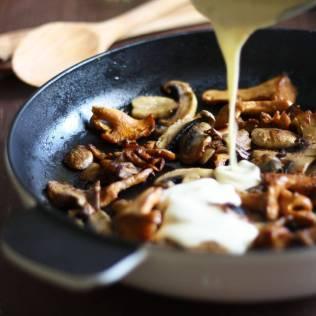Rustic Creamy Mushroom Pasta