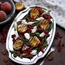 Summer Grilled Peach Salad