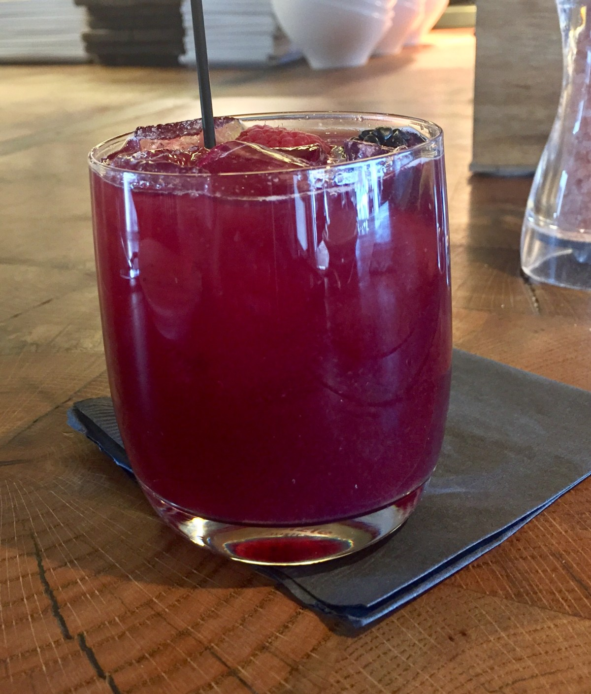Glass of Sangria at Carson Kitchen #carsonkitchen #kerrysimonrestaurant #downtownlasvegas #downtownvegas #vegasbarcrawl