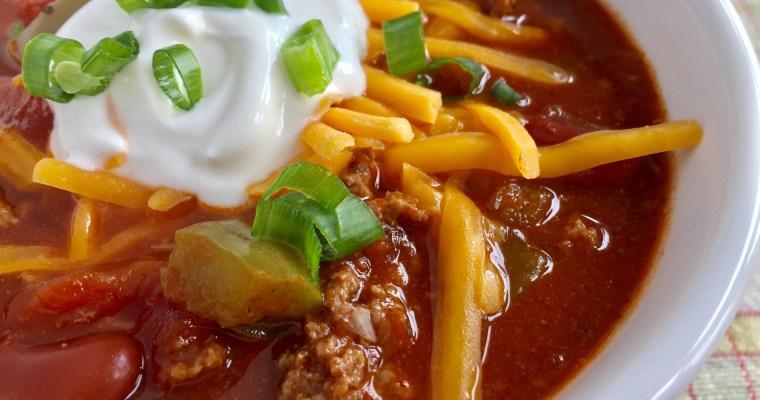 Classic Beef Chili
