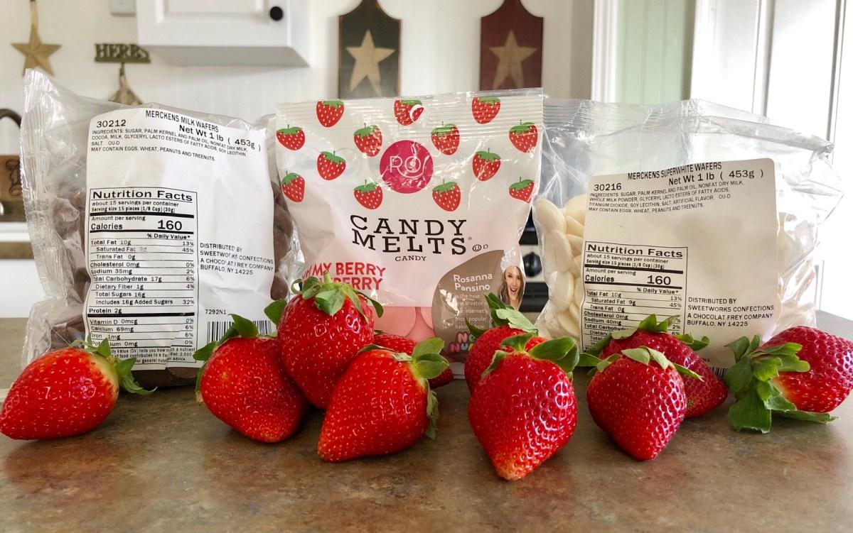 Chocolate Covered Strawberries Ingredients List