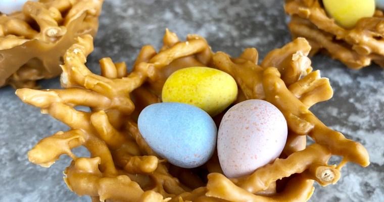 Butterscotch Easter Nests