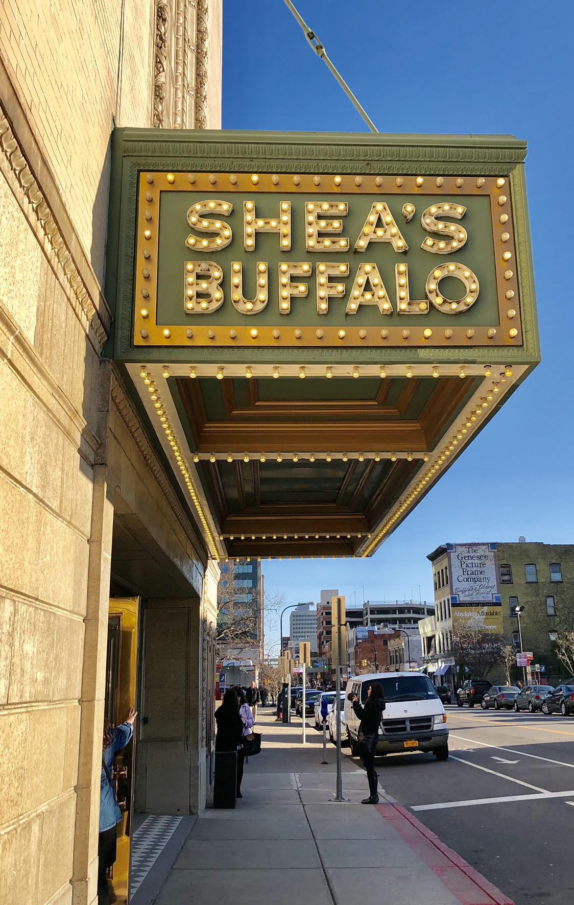 Shea's Performing Arts Center #sheas #buffalo #buffalony #sheasbuffalo #buffalotheaterdistrict