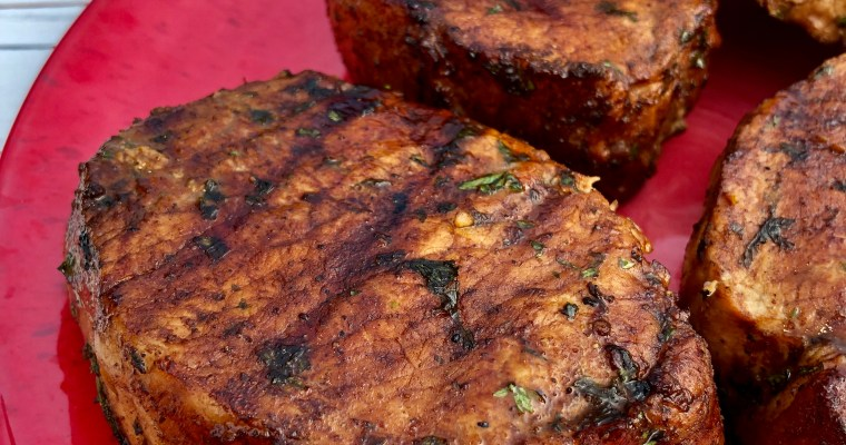 Best Grilled Pork Chops Marinade