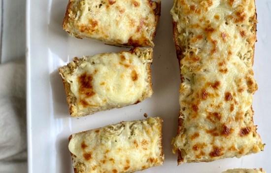 Easy Artichoke Bread