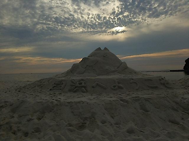 白良浜海水浴場の海