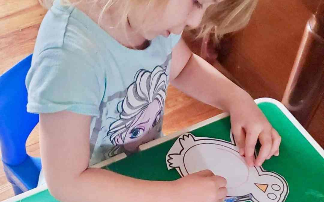 The biggest mistake during toddler art projects