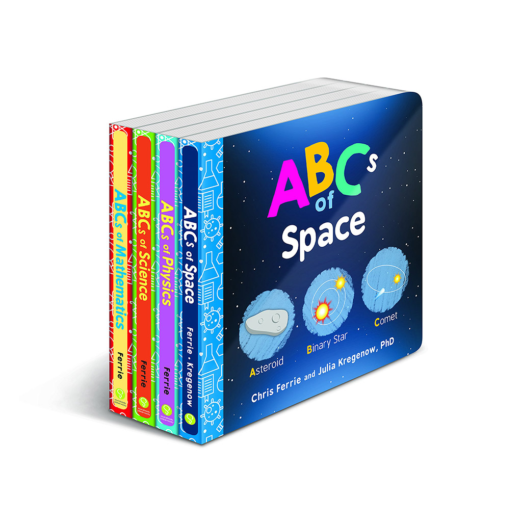 Baby University ABC's Book Set - Happy Little Tadpole