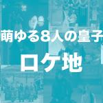 麗花萌ゆる8人の皇子たち ロケ地