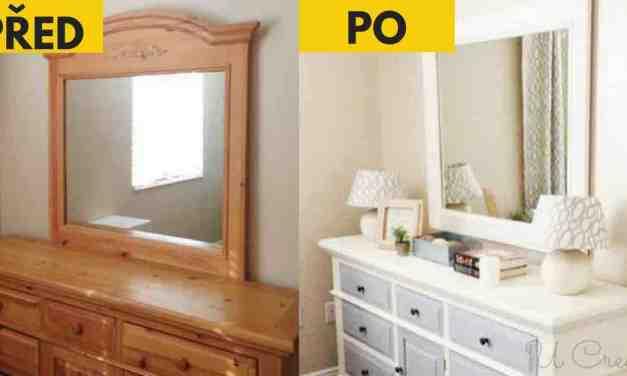 20 úžasných nápadů jak znovu zužitkovat starý nábytek