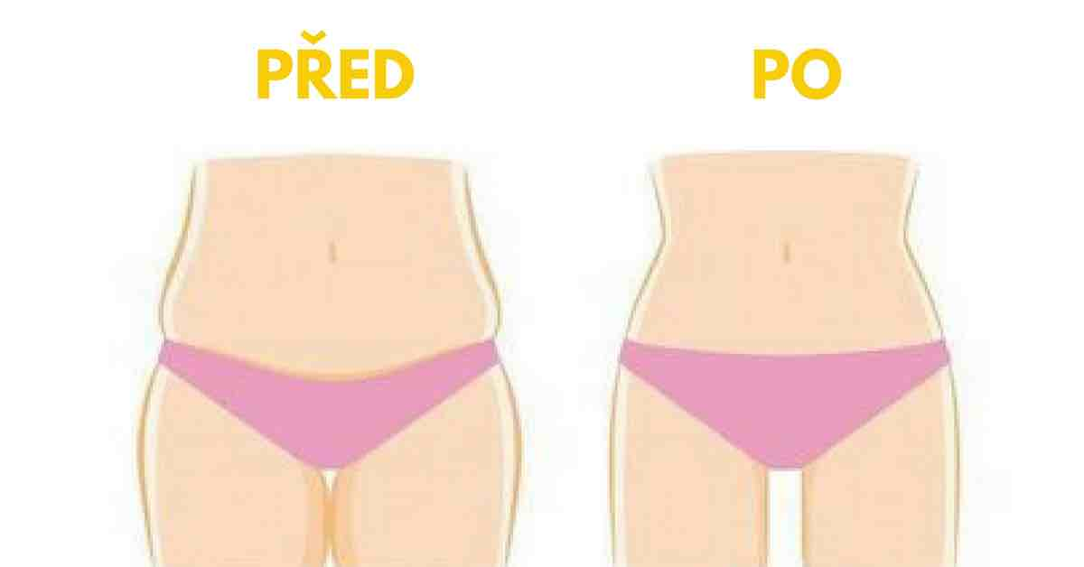 4 jednoduchá cvičení pro ploché břicho už za 4 týdny