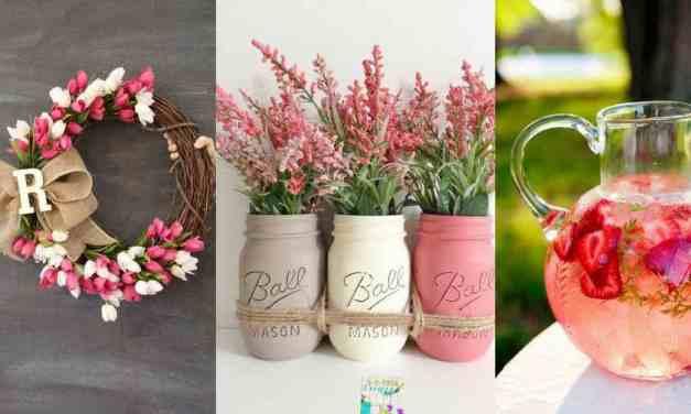 7 jarních dekorací, které rozzáří váš byt
