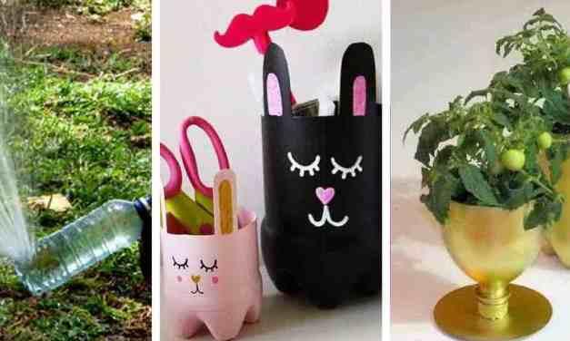 17 užitečných nápadů, jak znovu zužitkovat plastové lahve