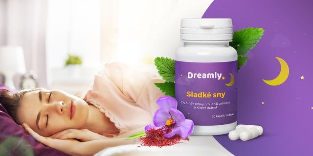 Recenze Dreamly – doplněk stravy pro lepší usínání a klidný spánek