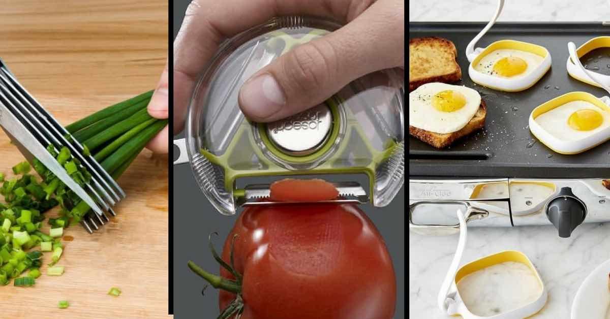 15 nejlepších vychytávek pro ty, co milují jídlo, ale neumí vařit
