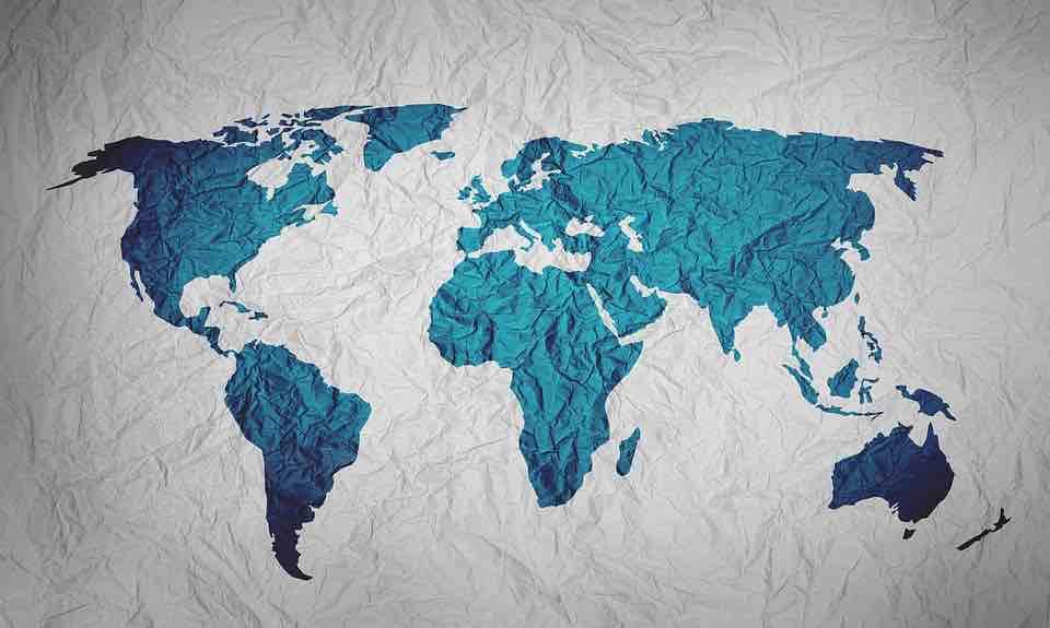 Stiraci Mapa Sveta Originalni Darek Pro Cestovatele