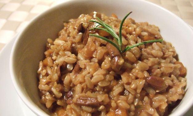 Hříbkové rizoto: jednoduchý recept z českých hub