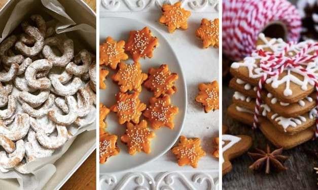 20 úžasných receptů na vánoční cukroví, po kterém se slehne zem