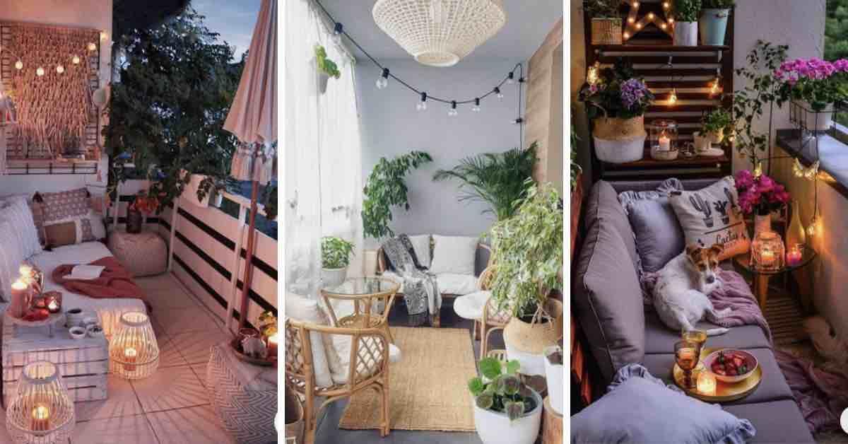 8 způsobů, jak si zvelebit balkon