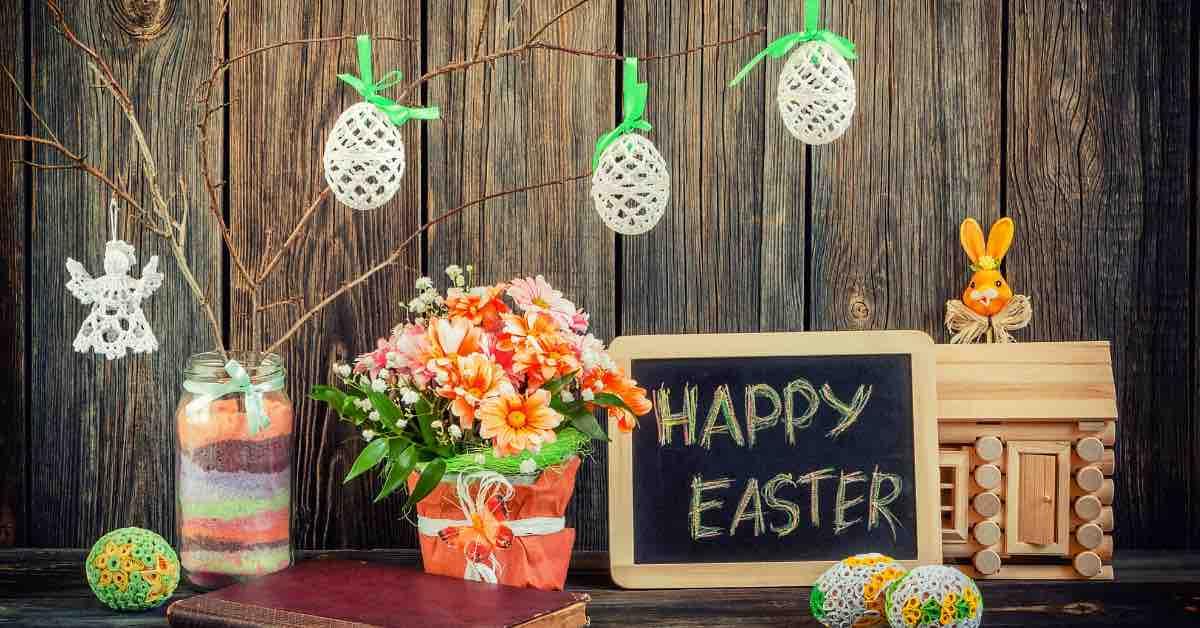 Velikonoční svátky: jak si to doma zvelebit