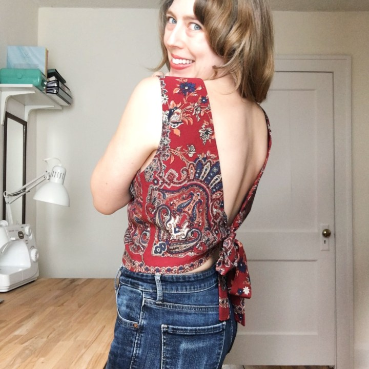 Free Bird – The Bathurst Top from Stitch Witch Patterns